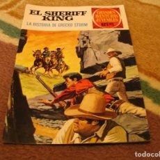 Tebeos: GRANDES AVENTURAS JUVENILES Nº 20 EL SHERIFF KING 1ª EDICIÓN LA HISTORIA DE GRECKO STORM. Lote 118071675