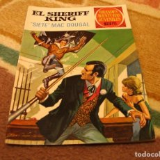 Tebeos: GRANDES AVENTURAS JUVENILES Nº 22 EL SHERIFF KING 1ª EDICIÓN SIETE MAC DOUGAL. Lote 118072243