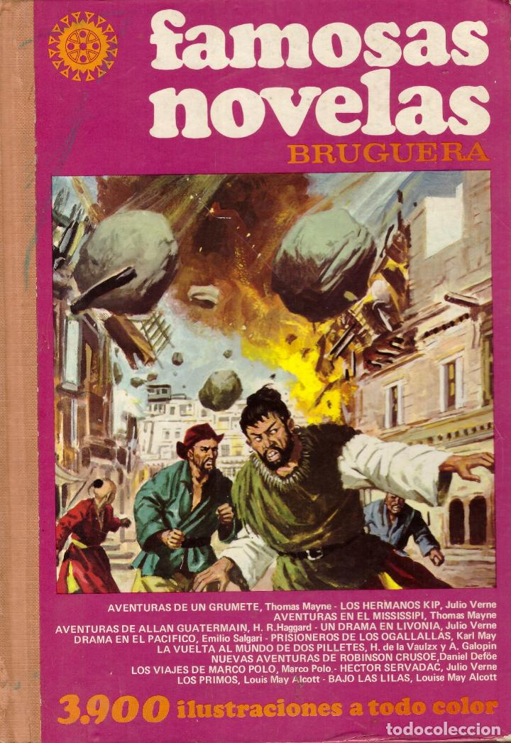 db47d96a1 Famosas novelas Bruguera, Volumen XIII