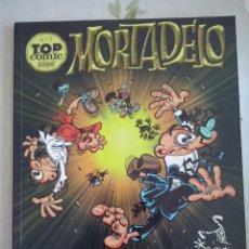 Tebeos: TOMO MORTADELO TOP COMIC NUM.1 . BUEN ESTADO. EDICIONES B. Lote 213018458