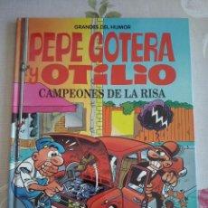 Tebeos: GRANDES DEL HUMOR NUM. 3. PEPE GOTERA Y OTILIO CAMPEONES DE LA RISA.TAPA DURA ED.EL PERIODICO. Lote 118133415