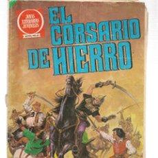 Tebeos: JOYAS LITERARIAS JUVENILES. SERIE ROJA. Nº 55. EL CORSARIO DE HIERRO. LA CIUDAD OLVIDADA. 1980(ST/). Lote 118133659