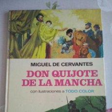 Tebeos: BRUGUERA - DON QUIJOTE DE LA MANCHA COLECCION PALMA DE ORO NUM. 3 .AÑO 1974. TAPA DURA. Lote 118143519