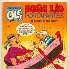 Tebeos: COLECCIÓN OLÉ! - DOÑA LÍO PORTAPARTES - ED. BRUGUERA - Nº 65 - 1ª EDICIÓN - 1971. Lote 118150643