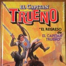 Tebeos: EL CAPITAN TRUENO - EL REGRESO DE - BRUGUERA - ALBUM TAPA DURA HISTORIA COMPLETA. Lote 118172187