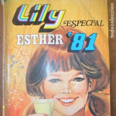 Tebeos: LILY ESPECIAL ESTHER '81 - POSTER VILLAGE PEOPLE. Lote 118269435