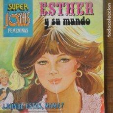 Tebeos: ESTHER Y SU MUNDO - TOMO Nº 9 SUPER JOYAS FEMENINAS SERIE AZUL -. Lote 118270555