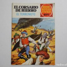 Tebeos: EL CORSARIO DE HIERRO. EL TERREMOTO N. 57. Lote 118301839