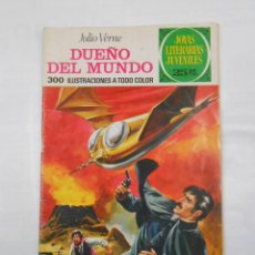 Tebeos: JOYAS LITERARIAS JUVENILES Nº 114. DUEÑO DEL MUNDO. JULIO VERNE. TDKC34 . Lote 118378999