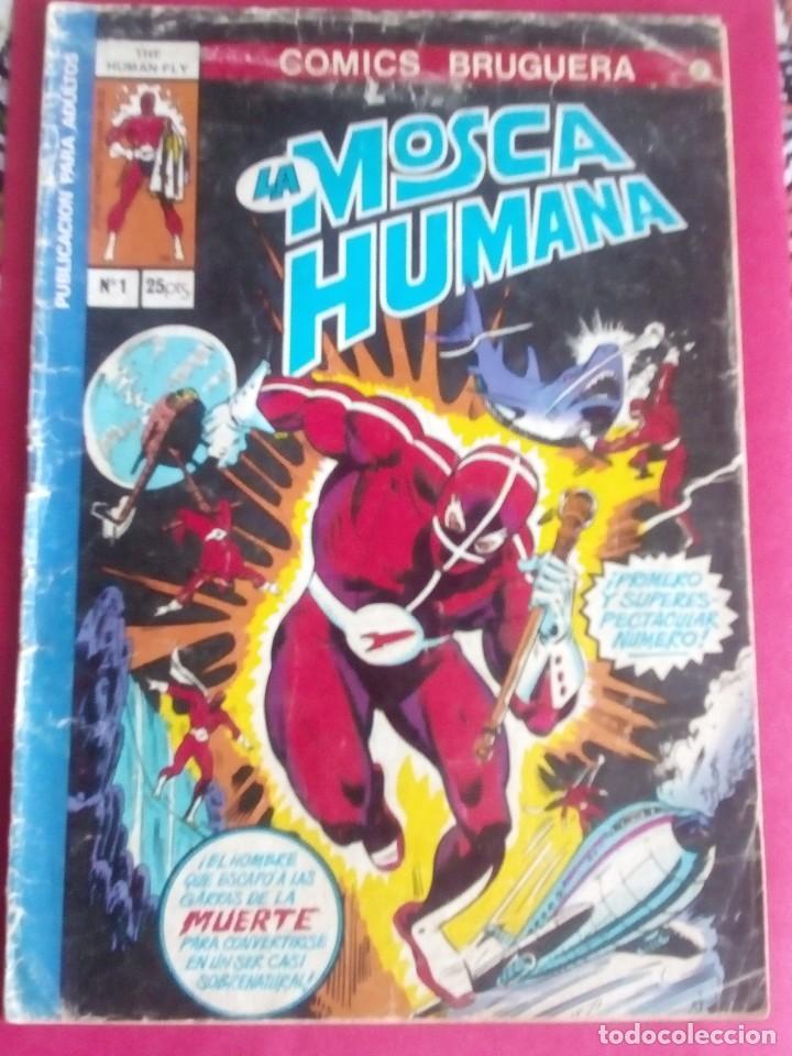 LA MOSCA HUMANA N-1 (Tebeos y Comics - Bruguera - Otros)