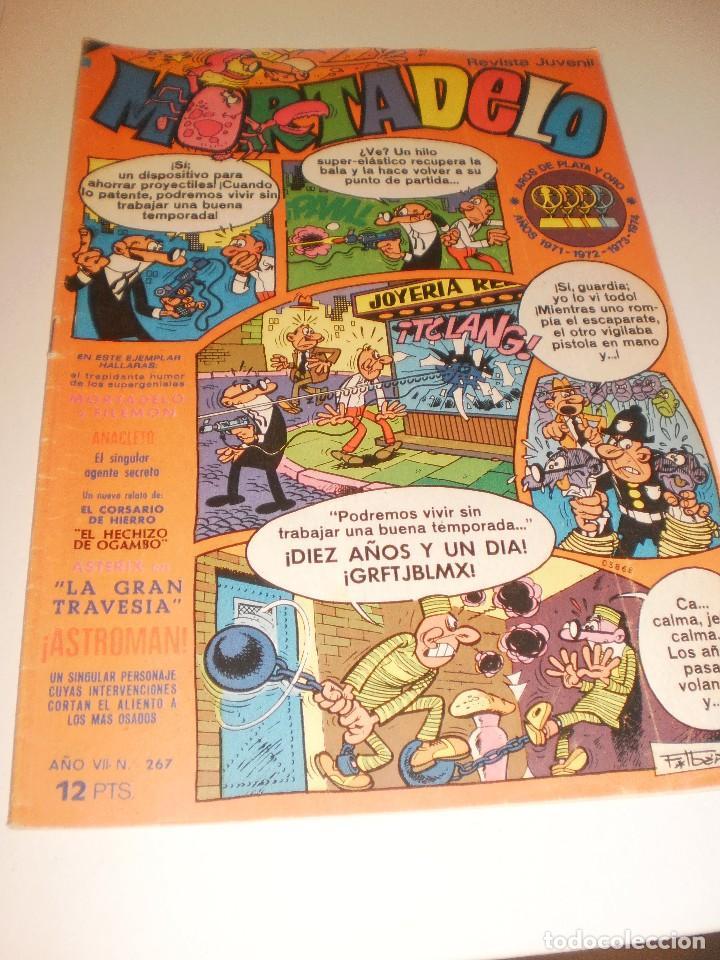 REVISTA CÓMIC MORTADELO Nº 267 (Tebeos y Comics - Bruguera - Mortadelo)