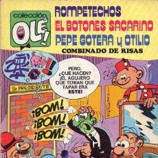 Tebeos: ROMPETECHOS EL BOTONES SACARINO PEPE GOTERA Y OTILIO *** COMBINADO DE RISAS. Lote 118496179