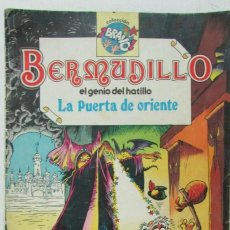 Tebeos: COLECCIÓN BRAVO BERMUDILLO EL GENIO DEL HATILLO Nº 4 LA PUERTA DE ORIENTE. BRUGUERA 1982 BUEN ESTADO. Lote 118555999