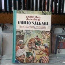 Tebeos: GRANDES OBRAS ILUSTRADAS DE EMILIO SALGARI TOMO 3. Lote 118563387