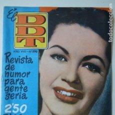 Tebeos: EL DDT AÑO VIII Nº 390 REVISTA DE HUMOR PARA GENTE SERIA AÑO 1958 BRUGUERA. Lote 118566879