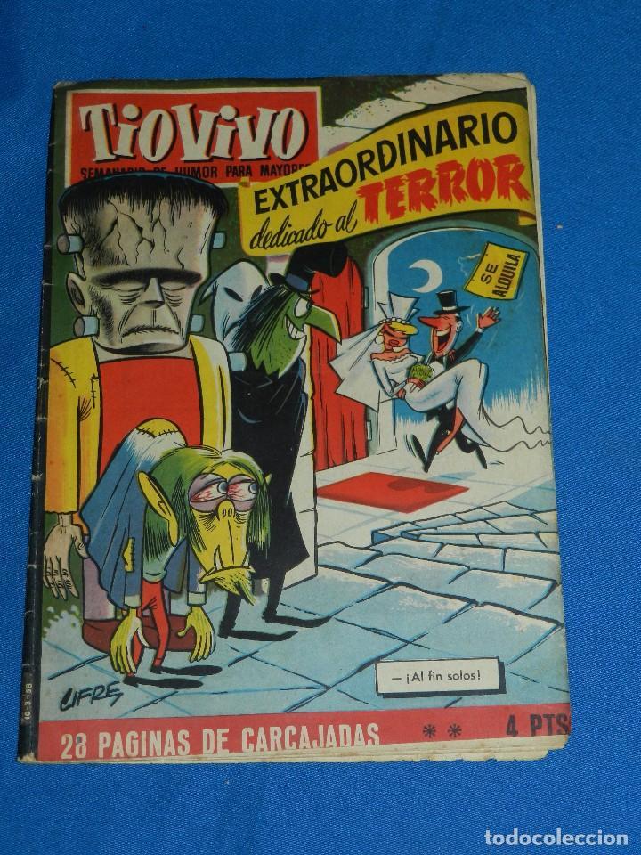(M7) TIO VIVO EXTRAORDINARIO DEDICADO AL TERROR , EDT BRUGUERA , SEÑALES DE USO (Tebeos y Comics - Bruguera - Tio Vivo)