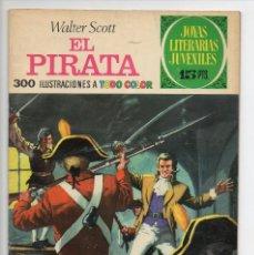 Tebeos: JOYAS LITERARIAS JUVENILES Nº6 EL PIRATA.. Lote 118587155
