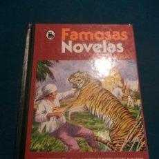 Tebeos: FAMOSAS NOVELAS - TOMO XIX - BRUGUERA 1ª EDICIÓN 1982 (A.C. DOYLE-W.SCOTT-SALGARI -K. MAY-J. LONDON). Lote 118614923