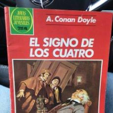 Tebeos: JOYAS LITERARIAS JUVENILES - NÚMERO 258 - EL SIGNO DE LOS CUATRO - BRUGUERA. Lote 118627408
