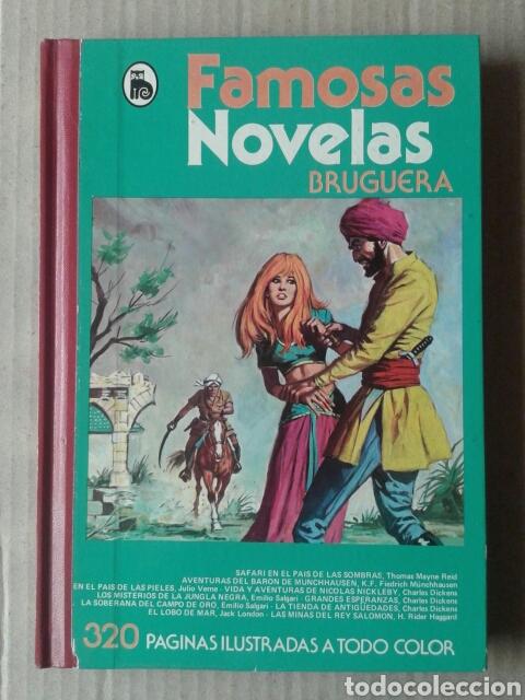 FAMOSAS NOVELAS, VOLUMEN XII (BRUGUERA, 1982). (Tebeos y Comics - Bruguera - Otros)