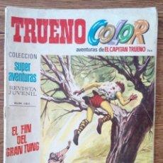 Tebeos: EL CAPITÁN TRUENO N°244. TRUENO COLOR.. Lote 118707118