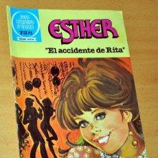 Tebeos: JOYAS LITERARIAS JUVENILES - SERIE AZUL - Nº 84: ESTHER - EL ACCIDENTE DE RITA - ED. BRUGUERA - 1983. Lote 118796979