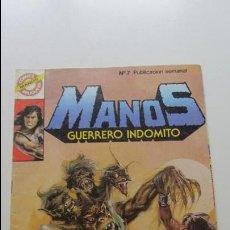 Tebeos: MANOS GUERRERO INDOMITO ,Nº 7 BRUGUERA-1984 CS114. Lote 118814171