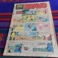Tebeos: REVISTA JUVENIL BRAVO Nº 44 CON PITHY RAINE. BRUGUERA 1968. 5 PTS. BUEN ESTADO. REGALO Nº 8.. Lote 118918575