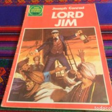Tebeos: JOYAS LITERARIAS JUVENILES Nº 260 LORD JIM. BRUGUERA 1982. 75 PTS. RARO.. Lote 118924215