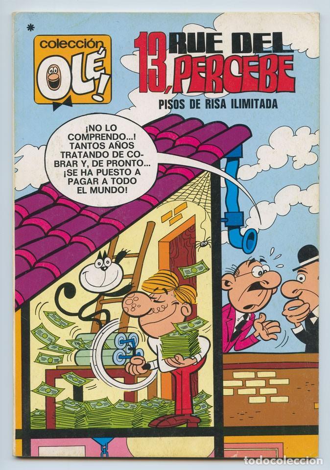 COLECCIÓN OLÉ! - 13, RUE DEL PERCEBE - ED. BRUGUERA - Nº 58 - 3ª EDICIÓN - 1978 (Tebeos y Comics - Bruguera - Ole)