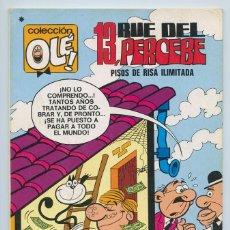 Tebeos: COLECCIÓN OLÉ! - 13, RUE DEL PERCEBE - ED. BRUGUERA - Nº 58 - 3ª EDICIÓN - 1978. Lote 119039575