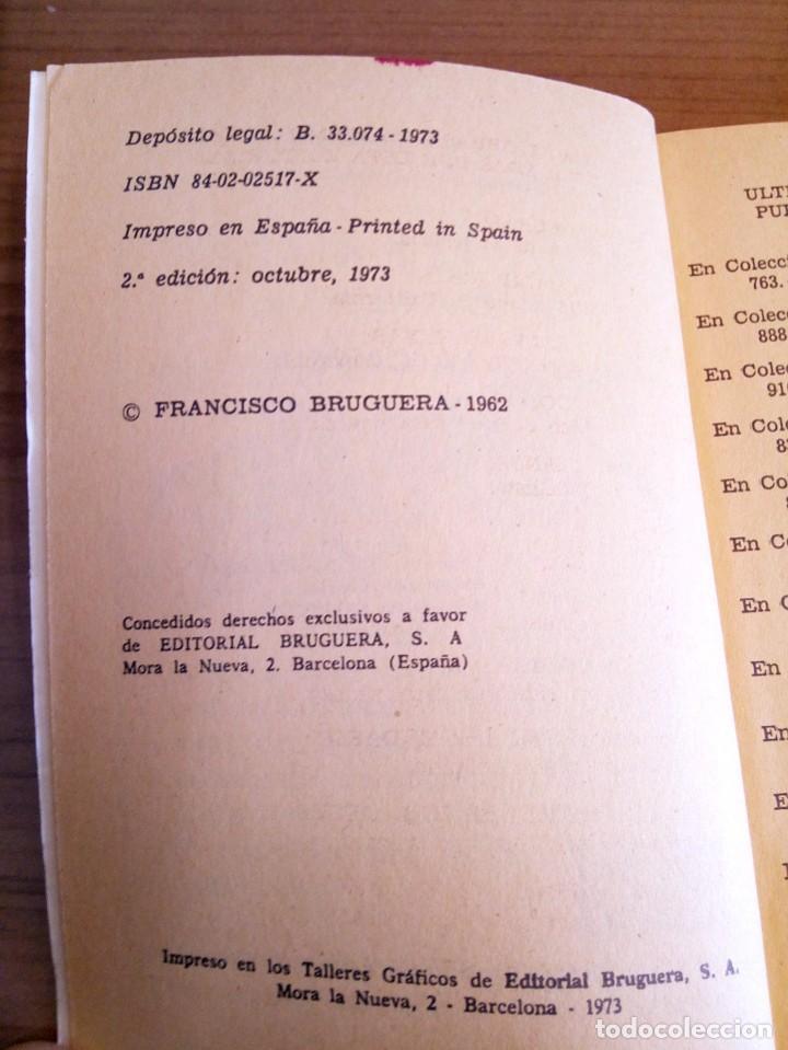 Tebeos: LA CARICIA DE LA CUERDA. HÉROES DEL OESTE N º 781. LAFUENTE MARCIAL. BRUGUERA 2 ª ED. 1973 - Foto 6 - 119049383