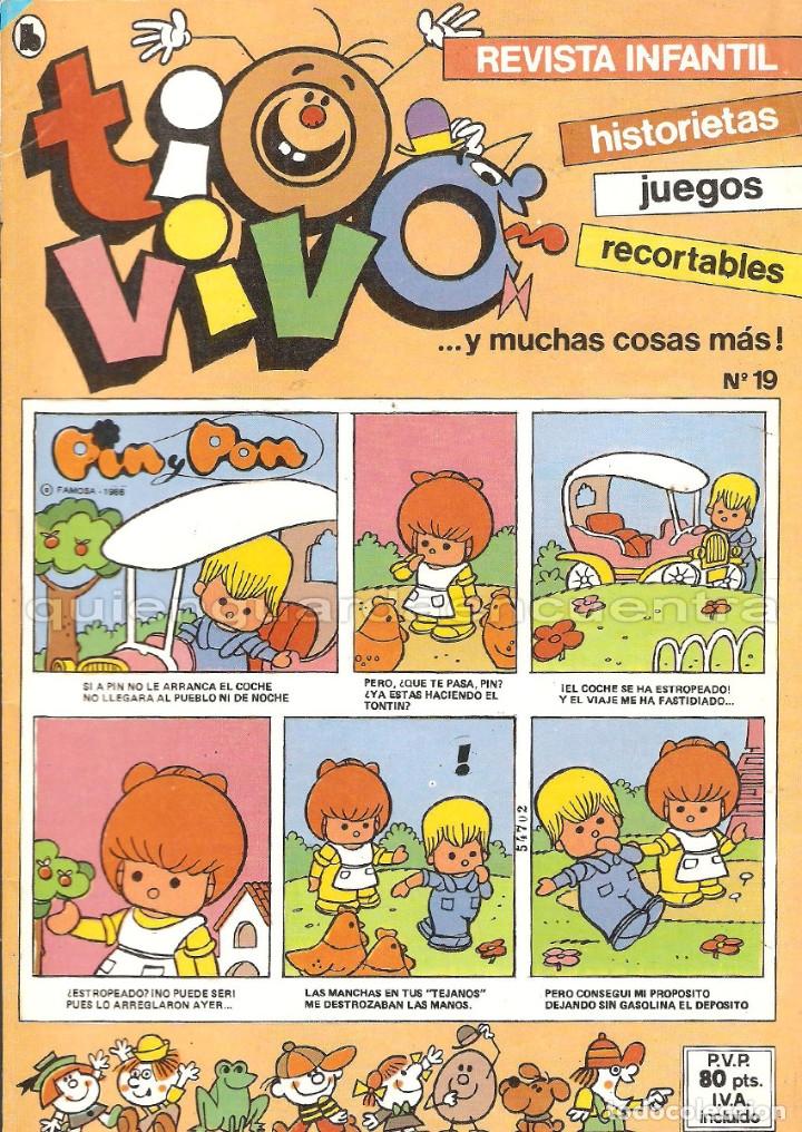 Tebeos: tio vivo 14 comics-historietas-recortables 2-10-13-14-15-16-17-18-19-20-21-23-23-24 año II-1986 NUEV - Foto 3 - 118538292
