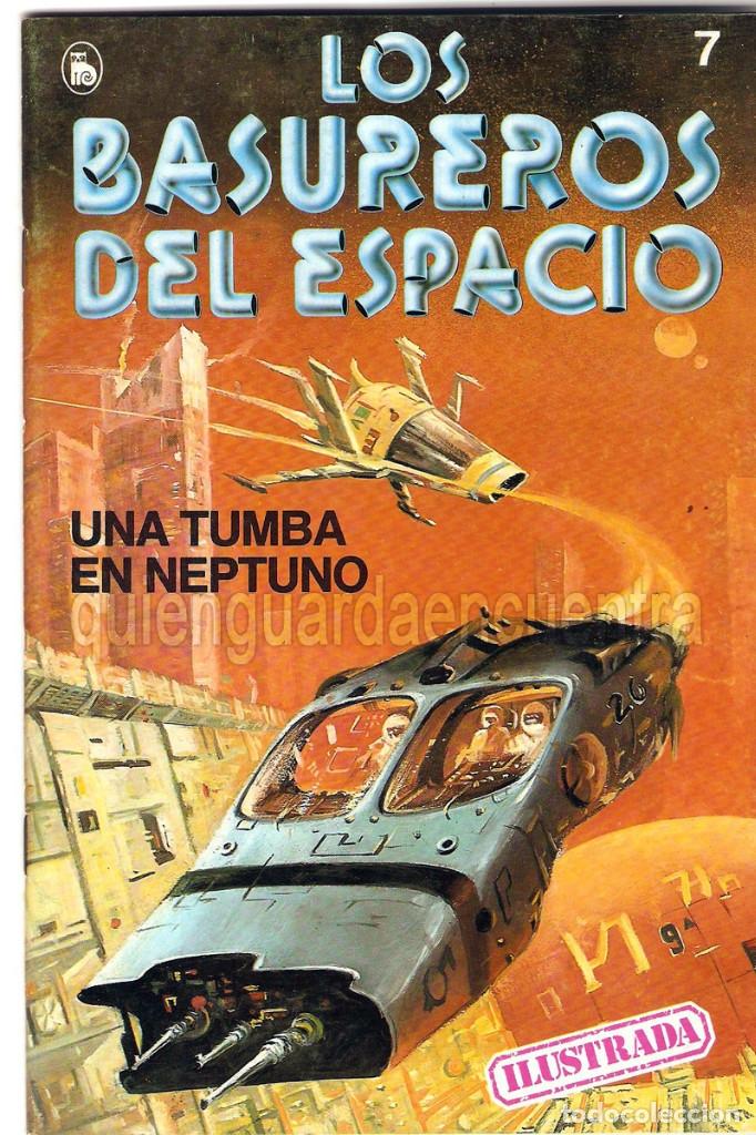 Tebeos: Los Basureros del Espacio 11 comics nuevos 3-4-5-6-7-8-9-10-11-12-13 Bruguera 1986 - Foto 7 - 56482450
