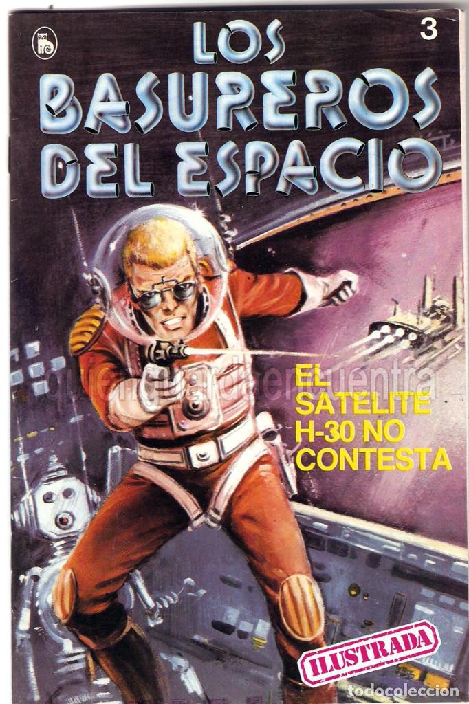 Tebeos: Los Basureros del Espacio 11 comics nuevos 3-4-5-6-7-8-9-10-11-12-13 Bruguera 1986 - Foto 8 - 56482450