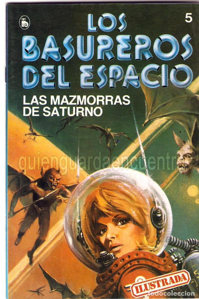 Tebeos: Los Basureros del Espacio 11 comics nuevos 3-4-5-6-7-8-9-10-11-12-13 Bruguera 1986 - Foto 10 - 56482450