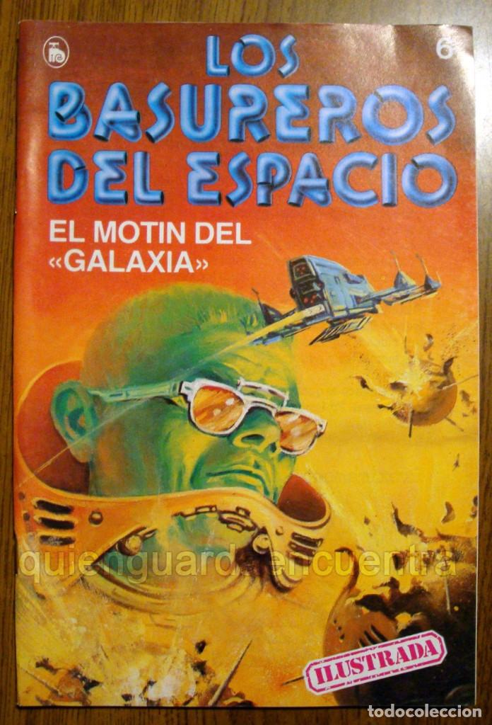 Tebeos: Los Basureros del Espacio 11 comics nuevos 3-4-5-6-7-8-9-10-11-12-13 Bruguera 1986 - Foto 11 - 56482450