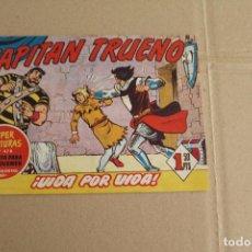 Tebeos - EL CAPITÁN TRUENO Nº 255, EDITORIAL BRUGUERA - 119359323