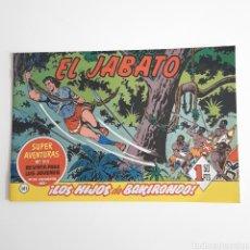 Tebeos: EL JABATO - EDITORIAL BRUGUERA 1961 - N°161. Lote 119476360