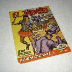Giornalini: EL JABATO ALBUM GIGANTE Nº 15. LA NAVE DE LOS GORILAS - EDITORIAL BRUGUERA 1966. Lote 119481255