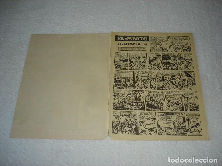 Tebeos: EL JABATO ALBUM GIGANTE Nº 15. LA NAVE DE LOS GORILAS - EDITORIAL BRUGUERA 1966 - Foto 2 - 119481255