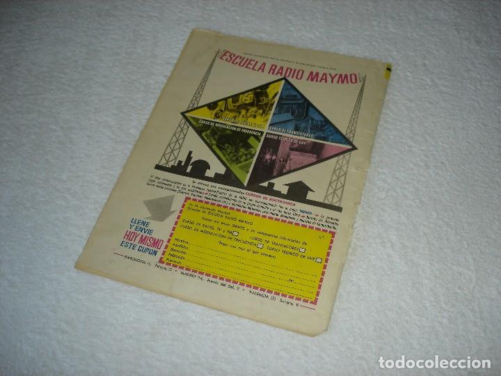 Tebeos: EL JABATO ALBUM GIGANTE Nº 15. LA NAVE DE LOS GORILAS - EDITORIAL BRUGUERA 1966 - Foto 5 - 119481255