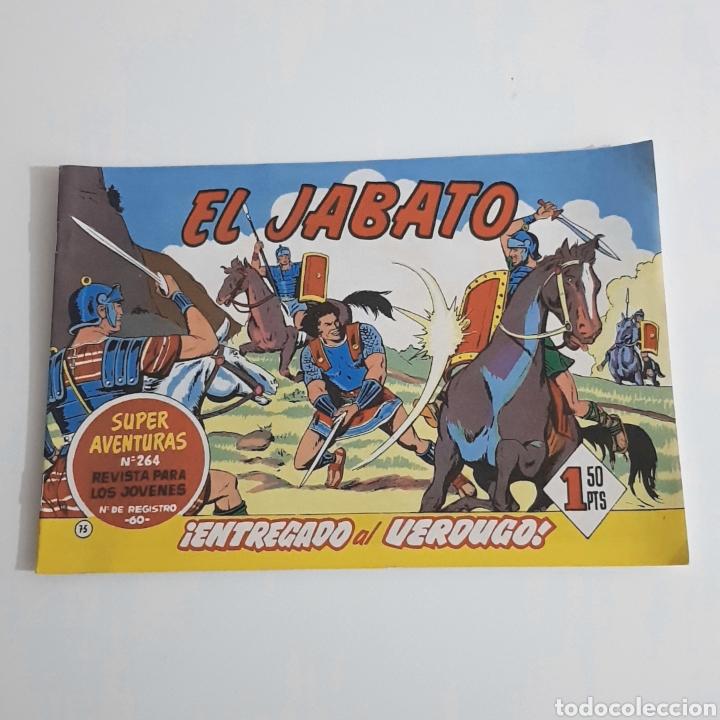 EL JABATO - EDITORIAL BRUGUERA 1960 - N°75 (Tebeos y Comics - Bruguera - Jabato)