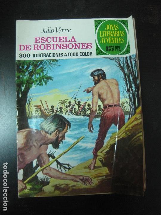 ESCUELA DE ROBINSONES. JULIO VERNE. JOYAS LITERARIAS Nº 108. BRUGUERA 1974 (Tebeos y Comics - Bruguera - Joyas Literarias)