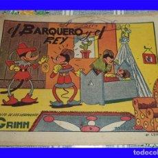 Tebeos: EL BARQUERO Y EL REY R. BATALLER ED. BRUGUERA ORIGINAL DE EPOCA 40 CTS. . Lote 119996347