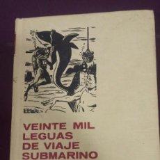 Tebeos: VEINTE MIL LEGUAS DE VIAJE SUBMARINO - SERIE JULIO VERNE - Nº 1 -- 1ª EDICION 1967 -- BRUGUERA --. Lote 244955625