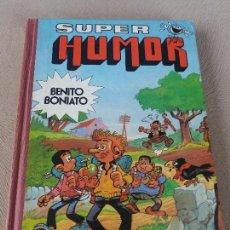 Tebeos: SUPER HUMOR BRUGUERA BENITO BONIATO TOMO Nº 2. Lote 120268895