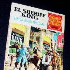 Tebeos: EL SHERIFF KING ,GRANDES AVENTURAS JUVENILES Nº 14 : CLANTON CONTRA MAC DIVER (MEJOR PRECIO). Lote 120283531