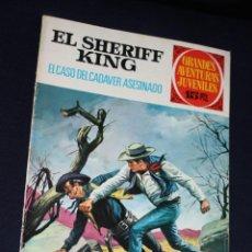 Tebeos: EL SHERIFF KING ,GRANDES AVENTURAS JUVENILES Nº 38 : EL CASO DEL CADÁVER ASESINADO (MEJOR PRECIO). Lote 120283627