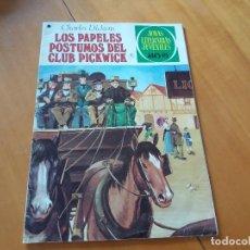 Tebeos: LOS PAPELES PÓSTUMOS DEL CLUB PICKWICK. CHARLES DICKENS. BRUGUERA. JOYAS LITERARIAS. N° 199. 1978.. Lote 120388739
